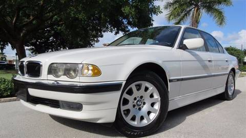 2001 BMW 7 Series for sale at DS Motors in Boca Raton FL