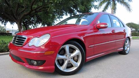 2006 Mercedes-Benz C-Class for sale at DS Motors in Boca Raton FL