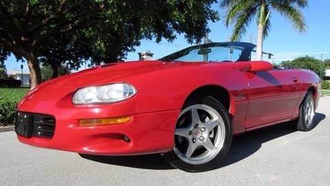 1999 Chevrolet Camaro for sale at DS Motors in Boca Raton FL