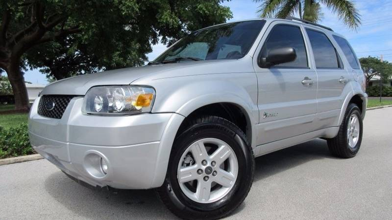 2007 Ford Escape Hybrid for sale at DS Motors in Boca Raton FL