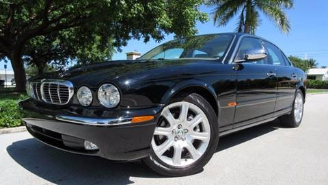 2004 Jaguar XJ-Series for sale at DS Motors in Boca Raton FL