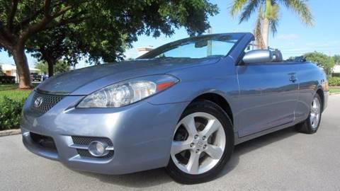 2007 Toyota Camry Solara for sale at DS Motors in Boca Raton FL