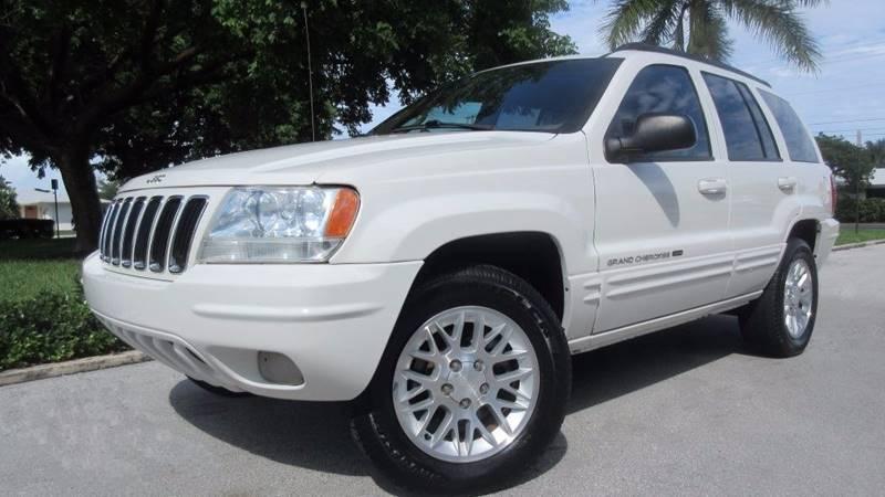 2002 Jeep Grand Cherokee Limited 2WD 4dr SUV   Pompano Beach FL