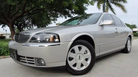 2004 Lincoln LS for sale at DS Motors in Boca Raton FL