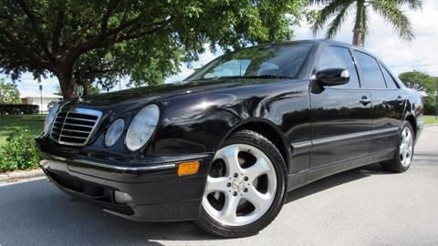 2002 Mercedes-Benz E-Class for sale at DS Motors in Boca Raton FL