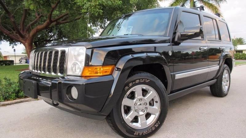 2008 Jeep Commander for sale at DS Motors in Boca Raton FL