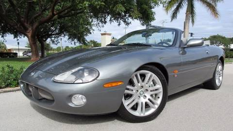 2003 Jaguar XKR for sale at DS Motors in Boca Raton FL