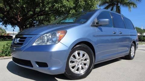 2008 Honda Odyssey for sale at DS Motors in Boca Raton FL