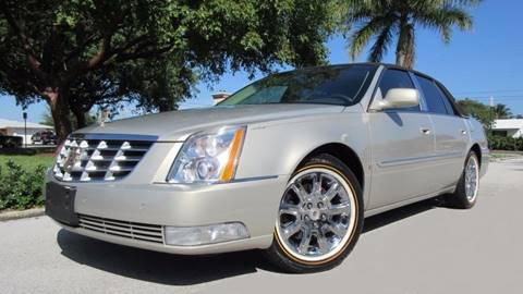 2009 Cadillac DTS for sale at DS Motors in Boca Raton FL