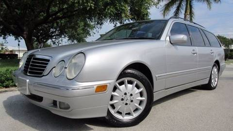 2002 Mercedes-Benz E-Class for sale at DS Motors in Boca Raton FL