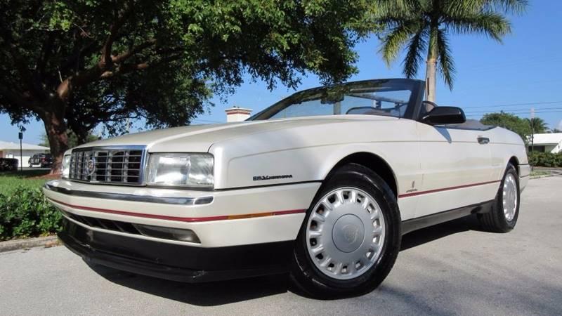 1993 Cadillac Allante for sale at DS Motors in Boca Raton FL