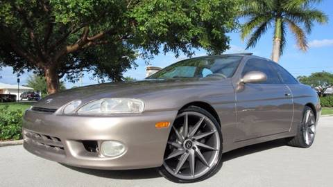 1999 Lexus SC 300 for sale at DS Motors in Boca Raton FL