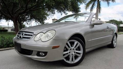 2007 Mercedes-Benz CLK for sale at DS Motors in Boca Raton FL