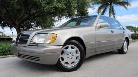 1995 Mercedes-Benz S-Class for sale at DS Motors in Boca Raton FL