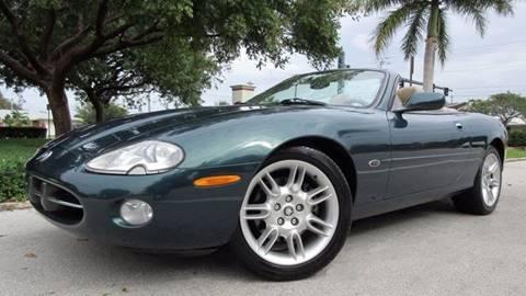 2002 Jaguar XK-Series for sale at DS Motors in Boca Raton FL
