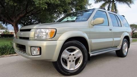 2001 Infiniti QX4 for sale at DS Motors in Boca Raton FL
