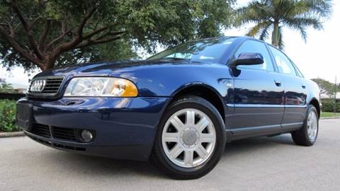 2001 Audi A4 for sale at DS Motors in Boca Raton FL