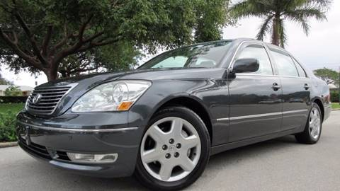 2005 Lexus LS 430 for sale at DS Motors in Boca Raton FL
