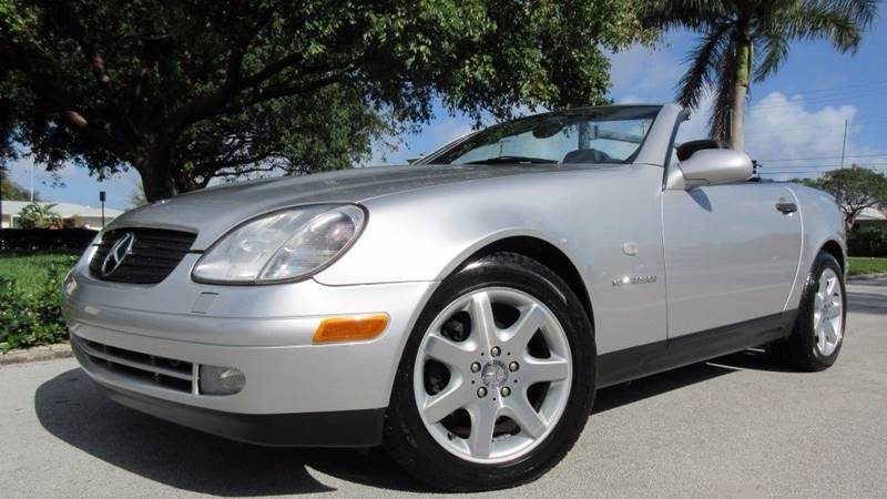 1999 Mercedes-Benz SLK for sale at DS Motors in Boca Raton FL