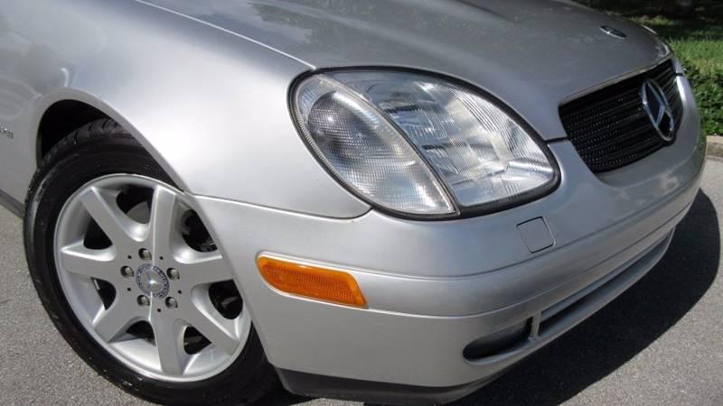 1999 Mercedes-Benz Slk SLK230 2dr Supercharged Convertible