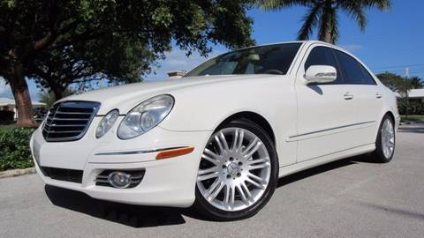 2008 Mercedes-Benz E-Class for sale at DS Motors in Boca Raton FL