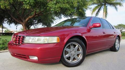 2002 Cadillac Seville for sale at DS Motors in Boca Raton FL