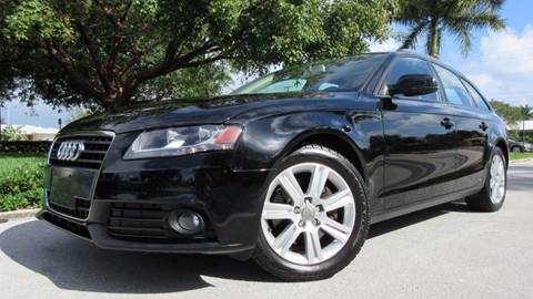 2010 Audi A4 for sale at DS Motors in Boca Raton FL