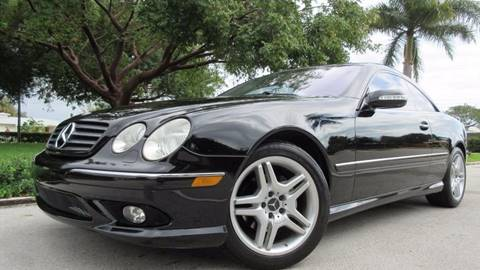 2006 Mercedes-Benz CL-Class for sale at DS Motors in Boca Raton FL