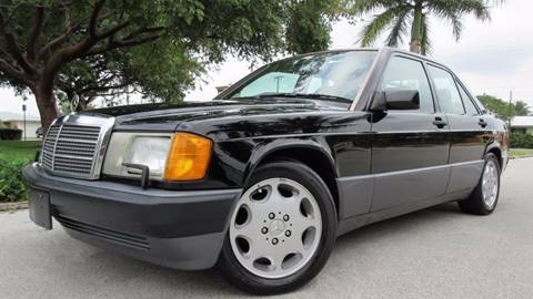 1993 Mercedes-Benz 190-Class for sale at DS Motors in Boca Raton FL