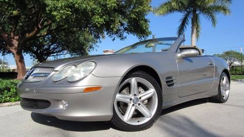2004 Mercedes-Benz SL-Class for sale at DS Motors in Boca Raton FL