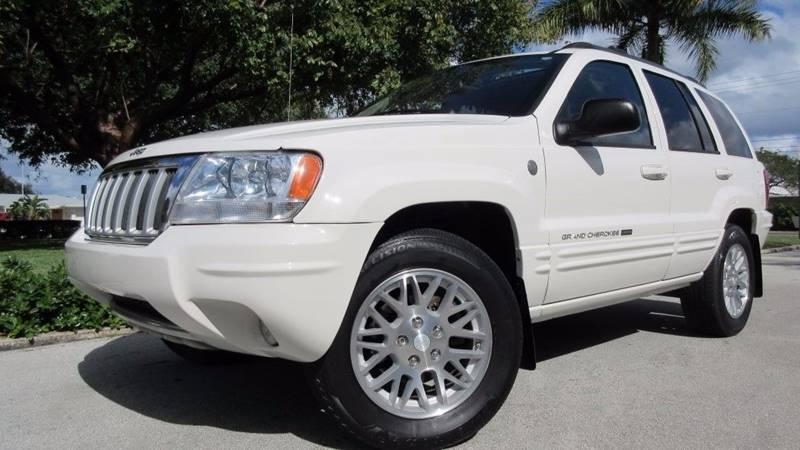 2004 Jeep Grand Cherokee for sale at DS Motors in Boca Raton FL