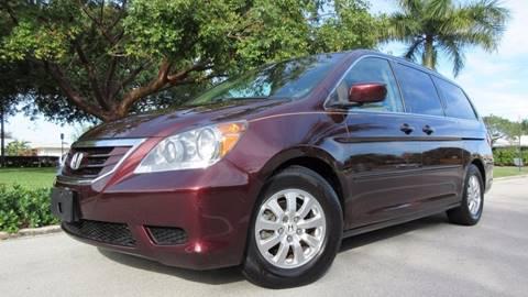 2009 Honda Odyssey for sale at DS Motors in Boca Raton FL