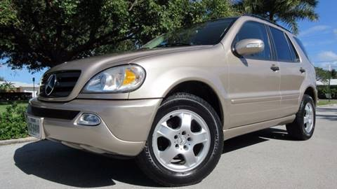 2002 Mercedes-Benz M-Class for sale at DS Motors in Boca Raton FL