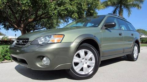 2005 Subaru Outback for sale at DS Motors in Boca Raton FL