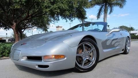 1998 Chevrolet Corvette for sale at DS Motors in Boca Raton FL