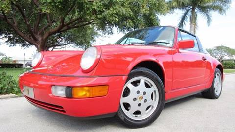 1991 Porsche 911 for sale at DS Motors in Boca Raton FL