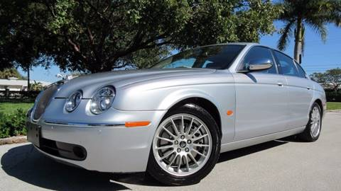 2007 Jaguar S-Type for sale at DS Motors in Boca Raton FL