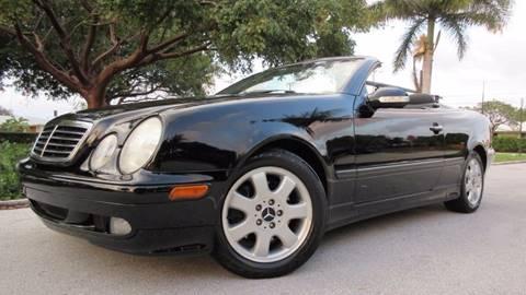 2003 Mercedes-Benz CLK for sale at DS Motors in Boca Raton FL