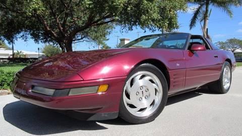 1993 Chevrolet Corvette for sale at DS Motors in Boca Raton FL