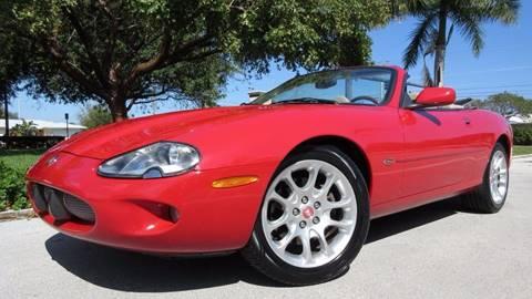 2000 Jaguar XKR for sale at DS Motors in Boca Raton FL