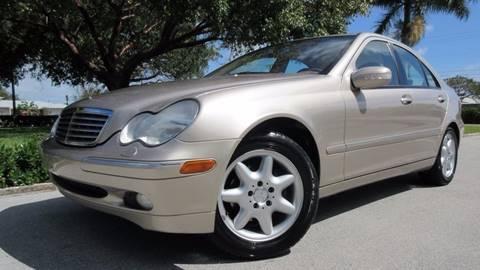 2001 Mercedes-Benz C-Class for sale at DS Motors in Boca Raton FL