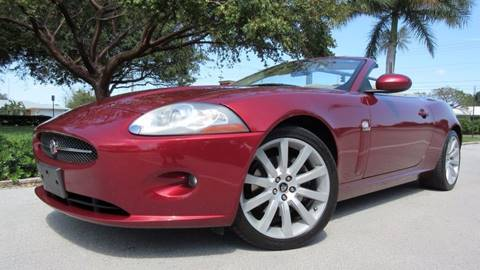 2007 Jaguar XK-Series for sale at DS Motors in Boca Raton FL