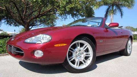 2001 Jaguar XK-Series for sale at DS Motors in Boca Raton FL