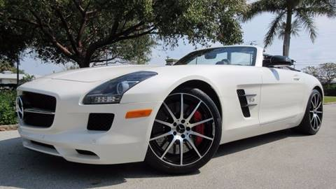 2013 Mercedes-Benz SLS AMG for sale at DS Motors in Boca Raton FL
