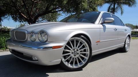 2005 Jaguar XJR for sale at DS Motors in Boca Raton FL