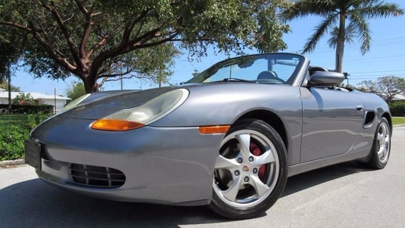2002 Porsche Boxster for sale at DS Motors in Boca Raton FL