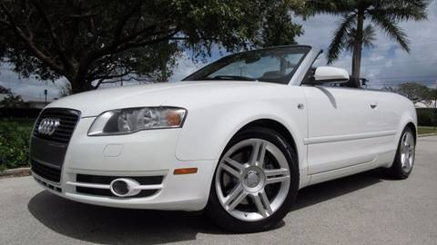 2008 Audi A4 for sale in Pompano Beach, FL