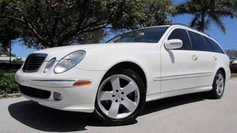 2006 Mercedes-Benz E-Class for sale at DS Motors in Boca Raton FL