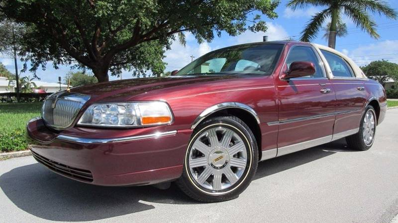 2004 Lincoln Town Car Ultimate 4dr Sedan In Pompano Beach Fl Ds Motors