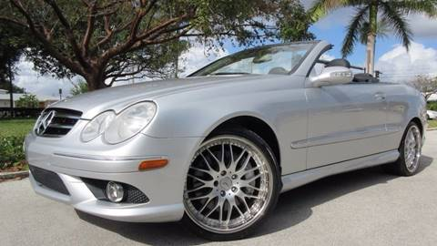 2006 Mercedes-Benz CLK for sale at DS Motors in Boca Raton FL